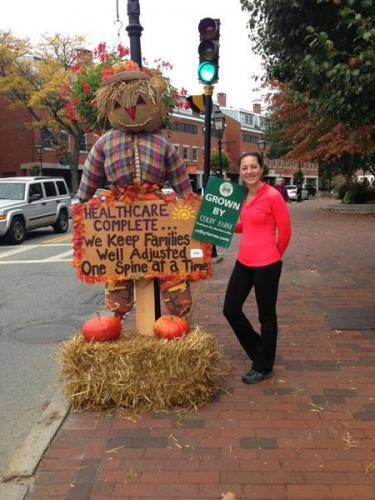 Newburyport Fall Festival Scarecrow 2013