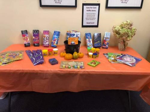 Halloween Candy Swap  2020- with candy  donations sent to troops overseas and given to a Local Boys and Girls Club